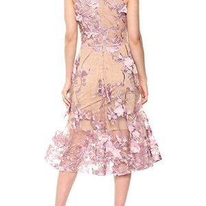 Dress the population Audrey fit and flare dress